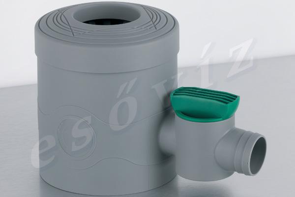Esővíztechnika Webáruház - PREMIERTECH AQUA Standard csappal ereszcsatorna vízlopó