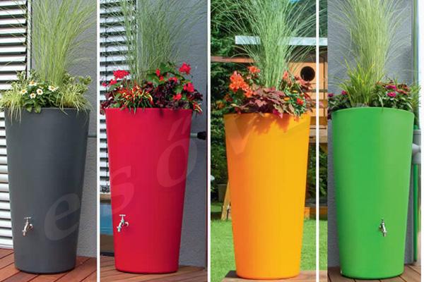 Esővíz Webáruház - PREMIERTECH AQUA Rainbowl Flower esővíztartály - kifutó modell 1