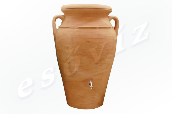 Esővíz Webáruház - PREMIERTECH AQUA Helena Terracotta 300L esővíztartály