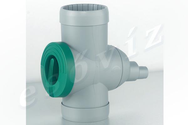 Esővíz Webáruház - PREMIERTECH AQUA Inox csappal ereszcsatorna szűrő vízlopó 1