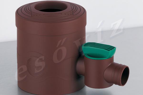 Standard barna csappal ereszcsatorna vízlopó