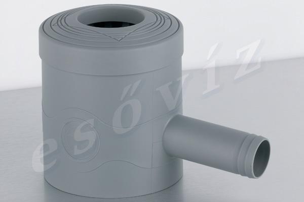 Esővíz Webáruház - PREMIERTECH AQUA Standard szürke ereszcsatorna vízlopó